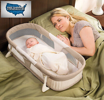 NEW SEALED Snuggle Nest : By Your Side Sleeper Bed for Your Newborn Baby