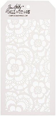 Stampers Anonymous AGW Tim Holtz Lace Stencils