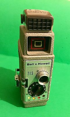 Vintage Bell & Howell Model 319 8mm Movie Camera with Case