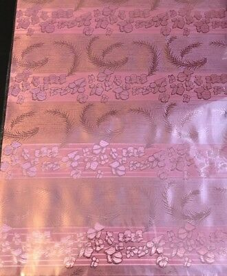AFRICAN HEADTIE SEGO GELE (Light Pink) Sold Per Piece.