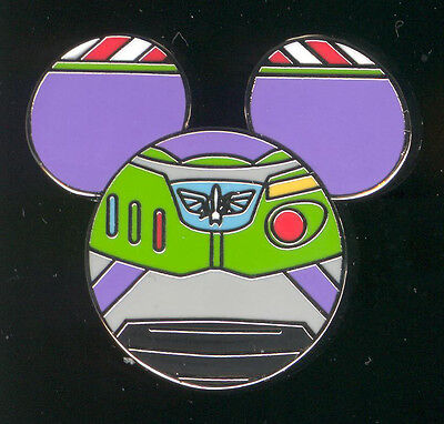 Mickey Mouse Icon Mystery Pouch Buzz Lightyear Disney Pin 86552