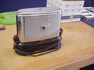 Vintage 1950's Toast-O-Lator Walk Through Original Toaster Works Great Clean