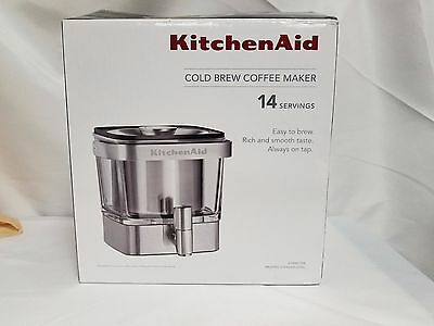 Kitchenaid Cold Brew Coffee Maker Stainless Steel - Kitchen ... on 1 cup coffee maker, personal coffee maker, viking coffee maker, bunn coffee maker, 12 cup coffee maker, 60 cup coffee maker, under cabinet coffee maker, cuisinart coffee maker, vacuum coffee maker, braun coffee maker, blue coffee maker, spacemaker coffee maker, farberware coffee maker, dual coffee maker, starbucks coffee maker, nespresso coffee maker, 4 cup coffee maker, 14 cup coffee maker, target red coffee maker, black & decker coffee maker,