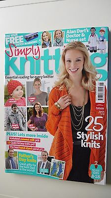 simply knitting magazine Issue 81 June 2011 VGC No Free Gifts