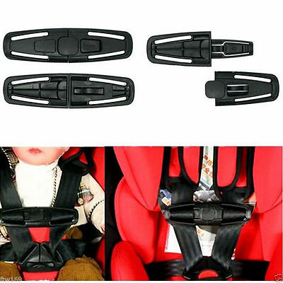 1X Baby Car Seat Safety Chest Strap Harness Clip Buckle Child Toddler Pram Safe