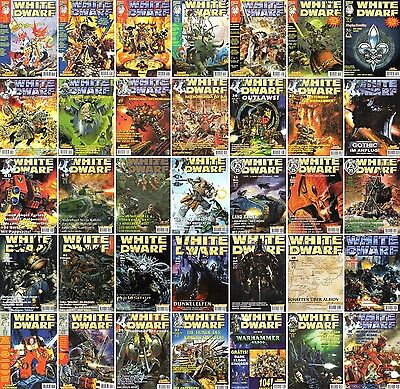 Selection: White Dwarf - expenditure Nr.121-180-Games Workshop