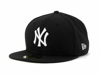 New York Yankees (Black/White) New Era 59Fifty Fitted