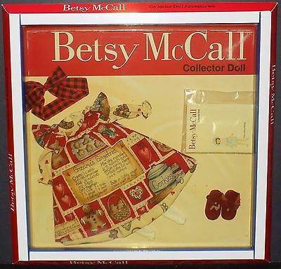 Tonner Betsy Mccall Doll Holiday Making Gingerbread Outfit Style #006 Nib