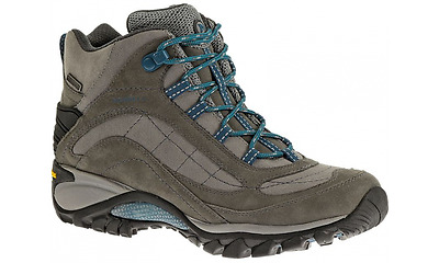 Merrell Siren Mid Waterproof Leather Women's Walking Hiking Boots Vibram