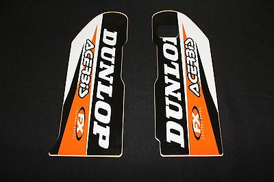 Ktm Factory Effex Lower Fork Guard Decals Graphics Stickers