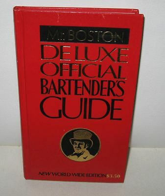 Mr. Boston Deluxe Official Bartender's Guide-1979 Edition