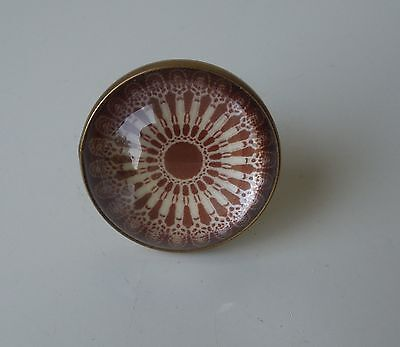 ONE Martha Stewart By Mail Clear Domed Reproduction Victorian Picture Nail