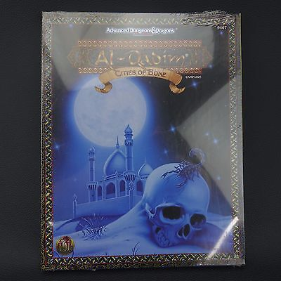 Al-Qadim CITIES OF BONE 9467 Advanced Dungeons Dragons Box NEW in SHRINK WRAP!