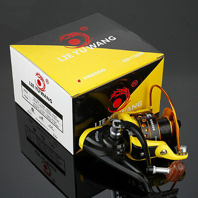 Universal High Speed Ball Bearings 12 Left Right Fishing Spinning Reels Yellow