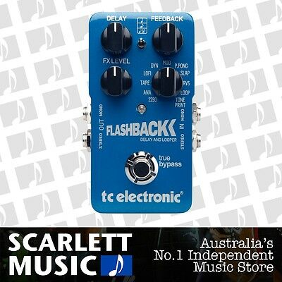 TC Electronic Flashback Digital Delay Effects Pedal *BRAND NEW*