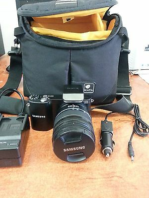 Samsung Digital Camera NX 1000 20.3mp with 18-55 OIS Lens Accessories (P13782)