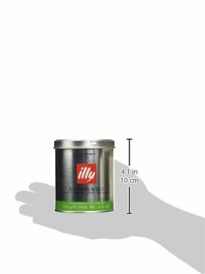 illy Decaffeinated Ground Coffee 125 g  Pack of 3