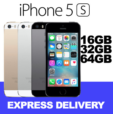 LIKE NEW iPHONE 5S 16GB 32GB 64GB ALL COLOURS UNLOCKED MR EXPRESS FROM MEL