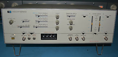 HP 8015A - 50MHz Pulsgenerator TOP