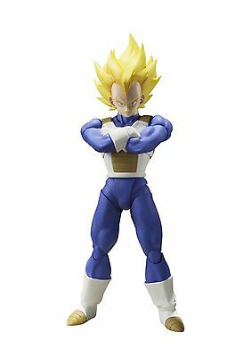 *NEW* Dragon Ball Z: Super Saiyan Vegeta S.H.Figuarts Action Figure by Bandai