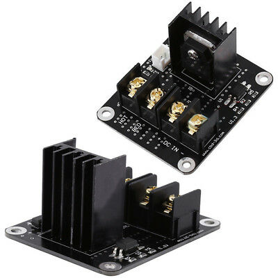 3D Printer Parts General Heat Bed Module Power Expansion Module High Power Black