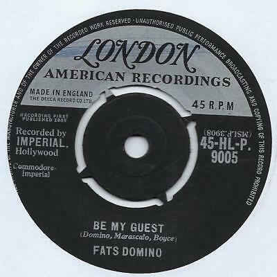 """Fats Domino - Be My Guest - 7"""" Single"""