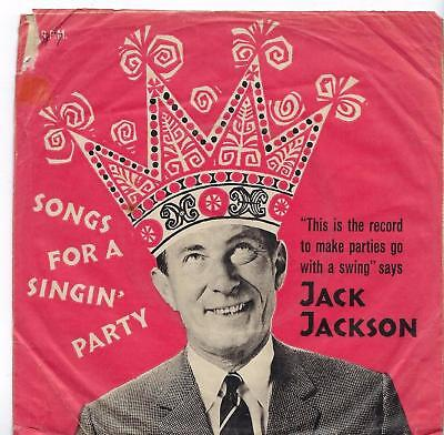 """Jack Jackson - Songs For A Singin' Party - 7"""" Single"""