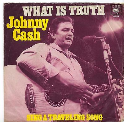 "Johnny Cash - What Is Truth - 7"" Single"