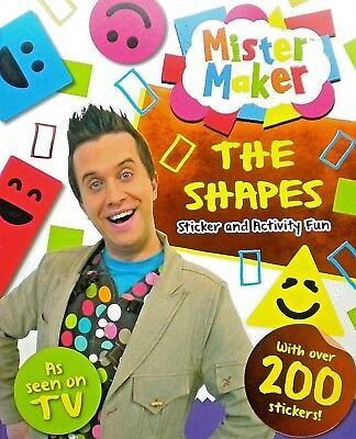 Mister Maker | The Shapes | Activity Book | Puzzles | Games | Stickers | New