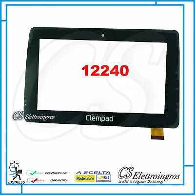 TOUCH SCREEN VETRO Per CLEMENTONI My First Clempad 6.0 Plus 12240 69601 255