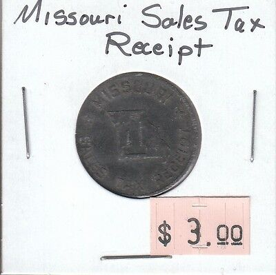 Missouri Sales Tax Receipt Token