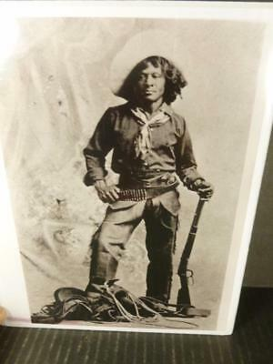 Black & White Photograph African American Cowboy Nat Love circa 1900 P334