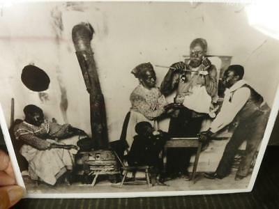 African American Family Weighing Baby Blk & Wht 8x10 Photograph circa 1905 P331