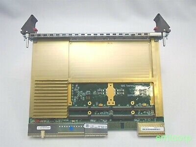 SBS Technologies DCPMC64 CompactPCI Conduction-Cooled Dual 64-Bit PMC Carrier