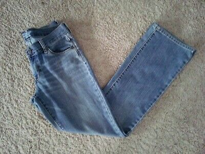 Old Navy Women's Blue Jeans The Flirt Distressed Older & Well Worn~Size 2 Short