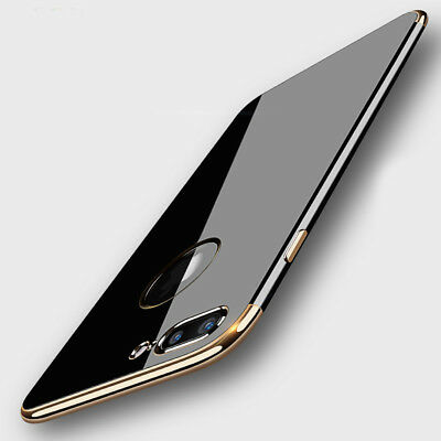For iPhone 6S 7 7 Plus Ultra-slim Luxury Fashion Plating Silicone Case Cover
