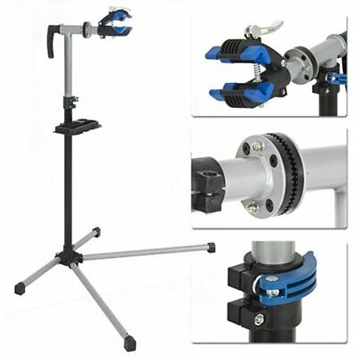 Pro Bike Adjustable Repair Stand W/ Telescopic Arm Cycle Bicycle Rack
