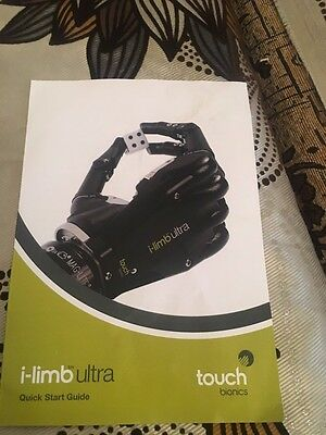 Arm and hand prosthesis i-limb ultra from Touch Bionics