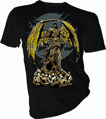 Angel of Darkness, Skull, Horror, Halloween Adult & Kids T-Shirt