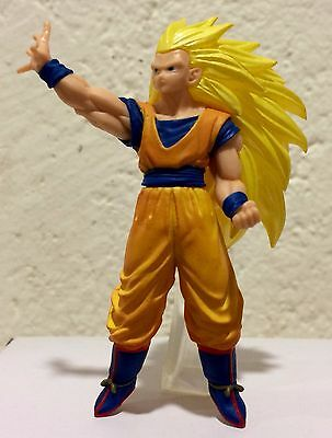 Dragon Ball Super Gashapon Vs 03 Goku Ss3 Battle Figure Figura Bandai New