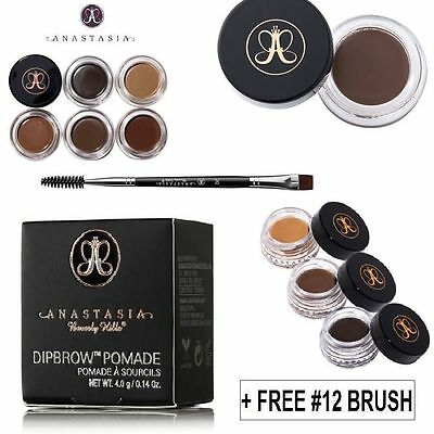 NEW Anastasia Beverly Hills Dipbrow Pomade Make Up Dip Brow Pomade with Box UK