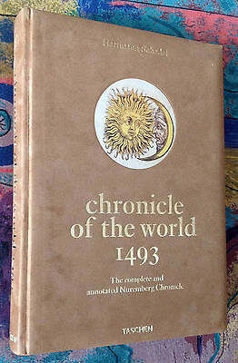 H.Schedel CHRONICLE OF THE WORLD 1493. CRONACHE DI NORIMBERGA Taschen anastatica