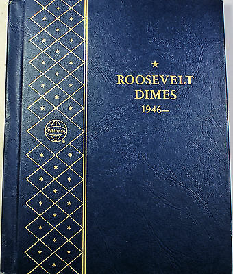 1946-1964  Roosevelt Dimes Complete Silver Uncirculated Coins Whitman 9115 (A)