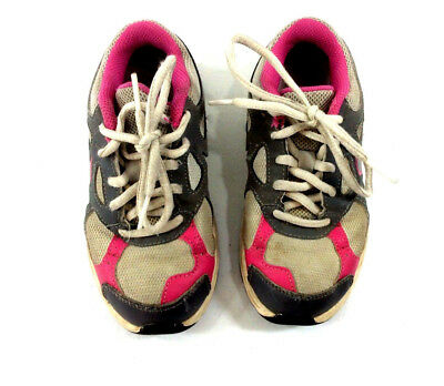 Nike Better World Girls Athletic Running Tennis Shoes Pink Grey Laces Size 11C