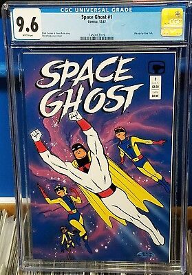 Space Ghost #1 1987 CGC 9.6 1st appearance Hannah Barbera Comico NM+ White Pages