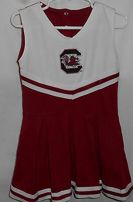 Toddler 24 months Gamecocks cheering outfit