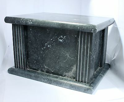 Adult Cremation Urn for Ashes Funeral Memorial Outdoor Marble Casket Urn REDUCED