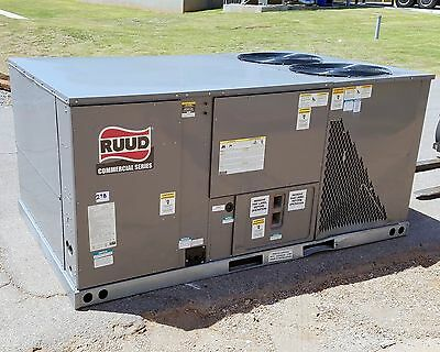 Ruud 10 Ton Packaged Air Conditioner With Gas Heat, 460V - New 298