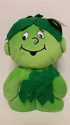 """RARE Vintage Jolly Green Giant 13"""" Speaking Lil Sprout Plush Doll"""
