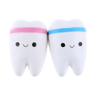 Soft Slow Rising Squishy Toy Cute Jumbo Teeth Squeeze Toy